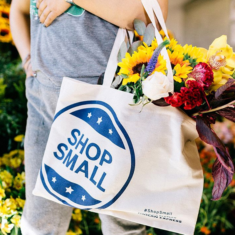 Small Business Saturday (US) Shop Small Shopping Bag